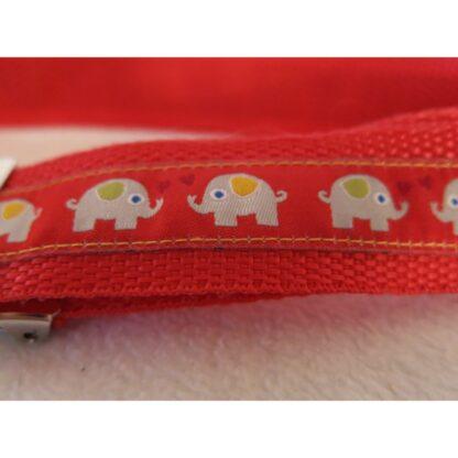 Kindergürtel Elefant (rot)