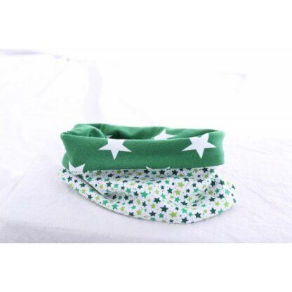 Loop grün mit Sternen