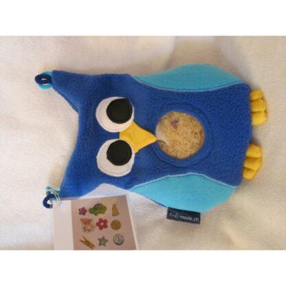 Spybag Eule blau-türkis