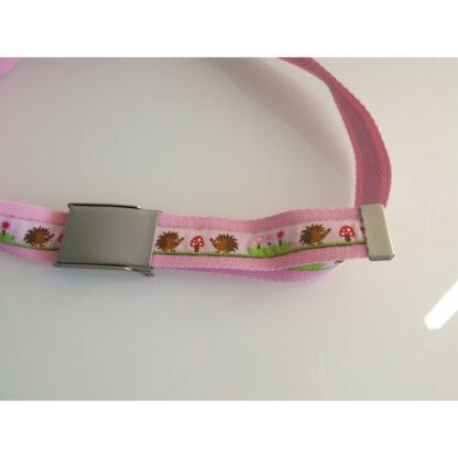 Kindergürtel rosa Igeli