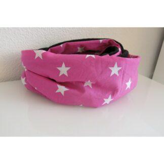Muster-Loop (rosa Sterne)