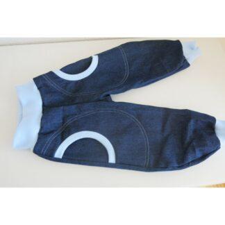 dünner Jeans - Pumphose Bündchen rot Gr. 80