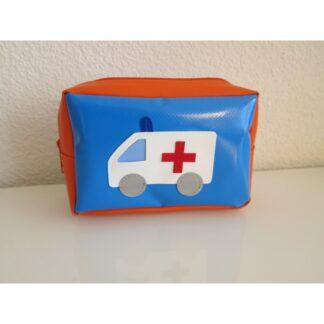 Notfalltäschli blau-orange