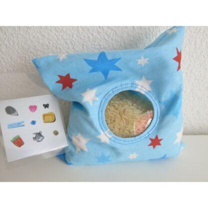 Spybag Sterne auf blau