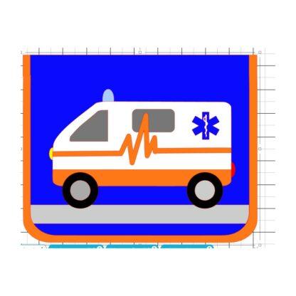 Kindergartentasche Krankenwagen
