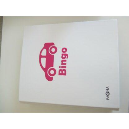 Auto-Bingo weisser Ordner