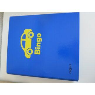 Auto-Bingo blauer Ordner