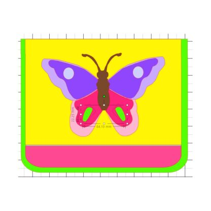 Kindergartentasche Schmetterling