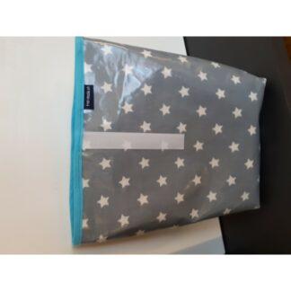 Lunchbag Sterne grau