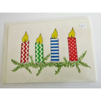 Karte Kerzen