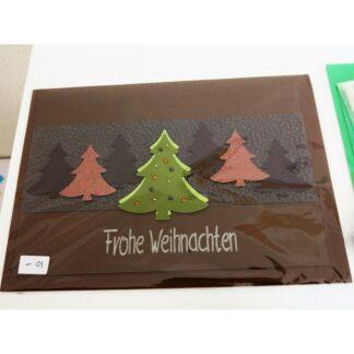 Karte Tannenbäume