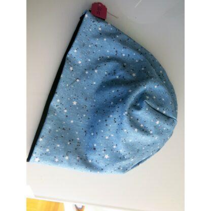 Baby/Kindermütze Sterne auf türkis